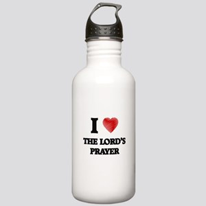 I love The Lord'S Pray Stainless Water Bottle 1.0L