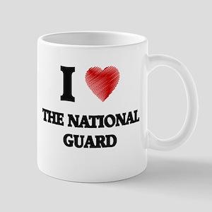 I love The National Guard Mugs