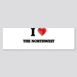 I love The Northwest Bumper Sticker