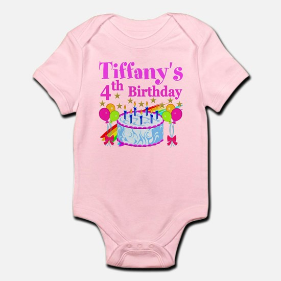 PERSONALIZED 4TH Infant Bodysuit