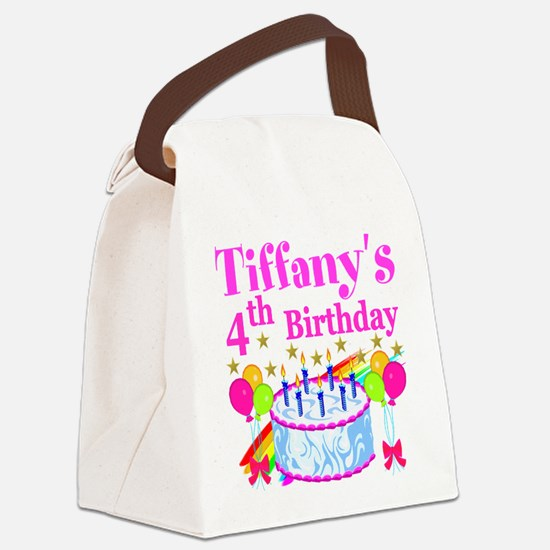 PERSONALIZED 4TH Canvas Lunch Bag