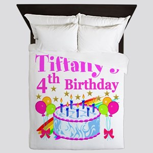 PERSONALIZED 4TH Queen Duvet