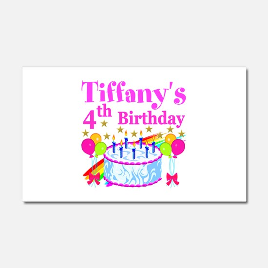 PERSONALIZED 4TH Car Magnet 20 x 12