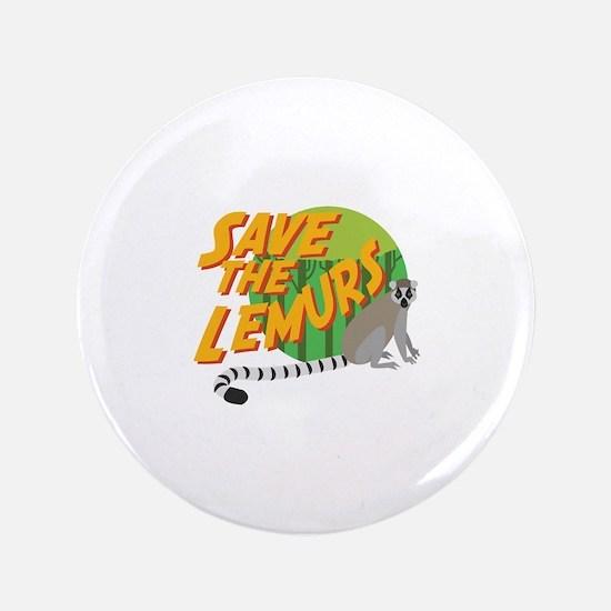 Save the Lemurs Button