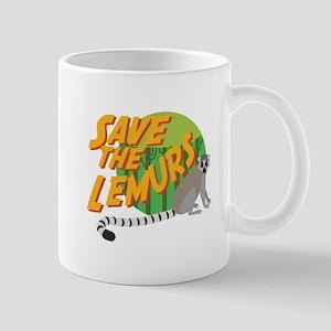 Save the Lemurs Mugs