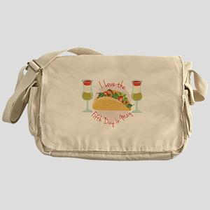 Fifth Day May Messenger Bag