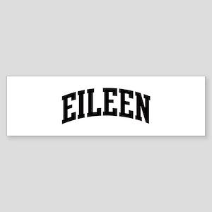EILEEN (curve) Bumper Sticker