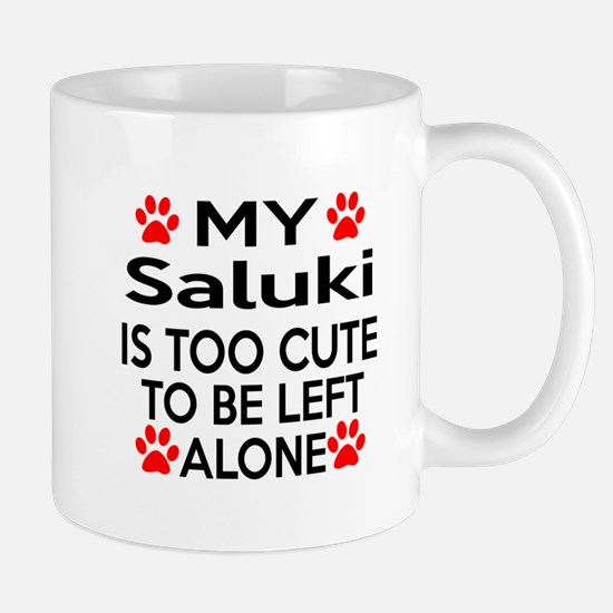 Saluki Is Too Cute Mug