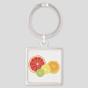 Citrus Fruit Keychains