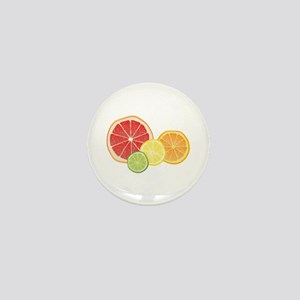 Citrus Fruit Mini Button