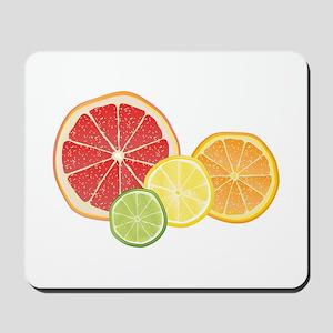 Citrus Fruit Mousepad