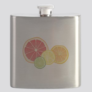 Citrus Fruit Flask
