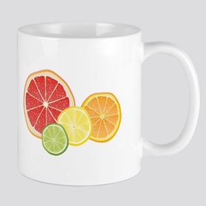 Citrus Fruit Mugs