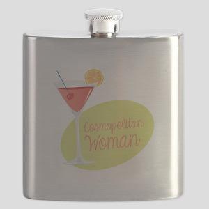 Cosmopolitan Woman Flask