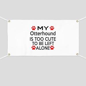 Otterhound Is Too Cute Banner