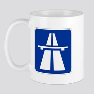 German Autobahn Mug