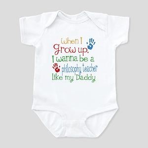 Philosophy Teacher Like Daddy Infant Bodysuit