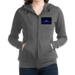 Time Portal In Space Women's Zip Hoodie