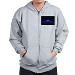 Time Portal In Space Zip Hoodie