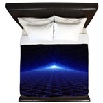 Time Portal In Space King Duvet