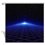 Time Portal In Space Shower Curtain