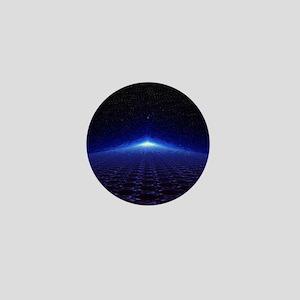 Time Portal In Space Mini Button