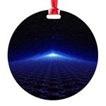 Time Portal In Space Ornament