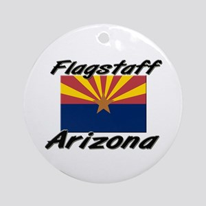 Flagstaff Arizona Ornament (Round)