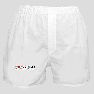 I Love Scofield - Fox River Boxer Shorts