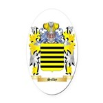 Selby Oval Car Magnet