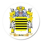 Selby Round Car Magnet