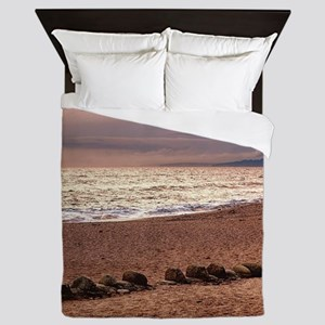 Dusk by the Sea Queen Duvet