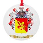Seidweber Round Ornament