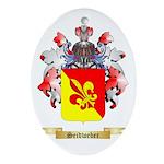 Seidweber Oval Ornament