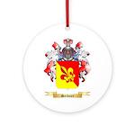 Seidner Round Ornament