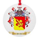 Seide Round Ornament