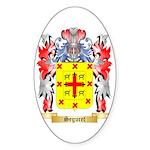 Seguret Sticker (Oval 50 pk)