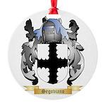 Segoviano Round Ornament