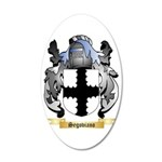 Segoviano 35x21 Oval Wall Decal