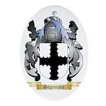 Segoviano Oval Ornament