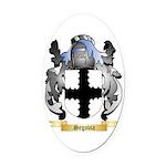 Segovia Oval Car Magnet