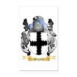 Segovia Rectangle Car Magnet