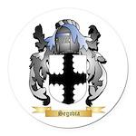 Segovia Round Car Magnet