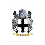 Segovia Sticker (Rectangle 10 pk)