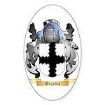 Segovia Sticker (Oval 10 pk)