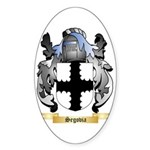 Segovia Sticker (Oval 50 pk)