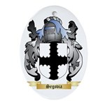 Segovia Oval Ornament