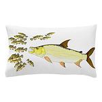 Giant Tigerfish attacks Jewel Cichlids Pillow Case