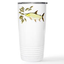 Giant Tigerfish attacks Jewel Cichlids Travel Mug