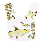 Giant Tigerfish attacks Jewel Cichlids Bib